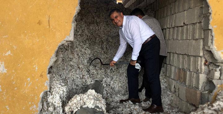 Milletvekili Güzelmansur'dan pamuk işletmelerine ziyaret