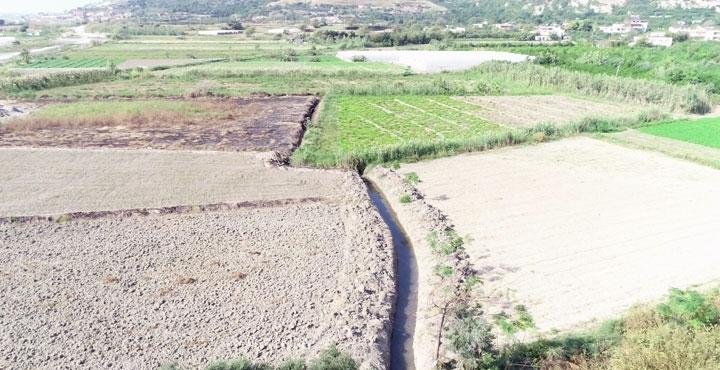 Yapılan dere çalışmasıyla 500 dönümlük arazi kurtarıldı