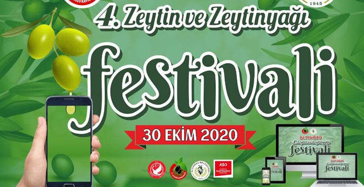 4. Zeytin ve Zeytinyağı Festivali dijital platformda gerçekleşecek