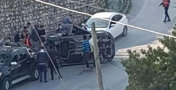 Defne'de Trafik Kazası