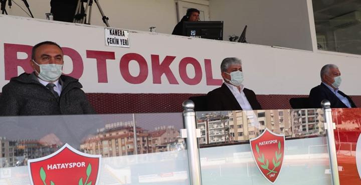 Protokolden Atakaş Hatayspor'a destek