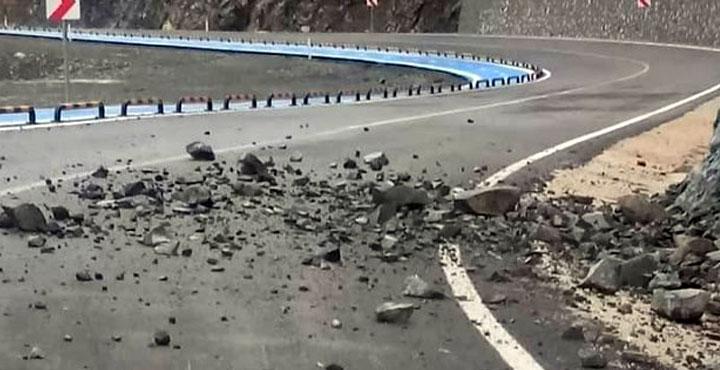 Samandağ-Arsuz yolu trafiğe kapandı