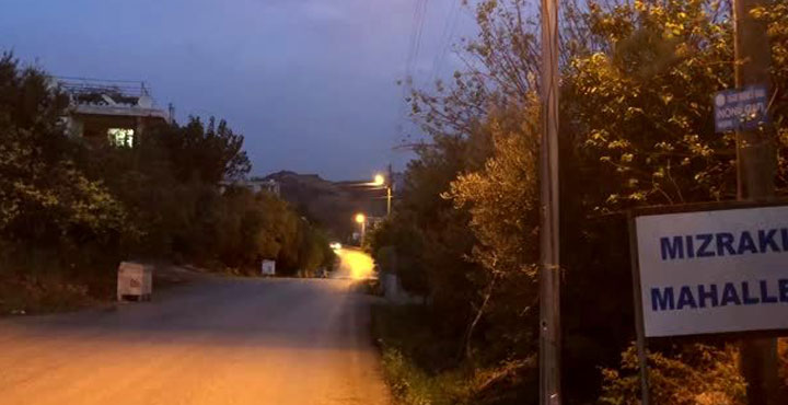 Samandağ'da bazı evler karantinaya alındı