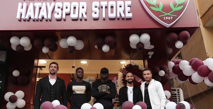 Atakaş Hatayspor ikinci mağazasını açtı
