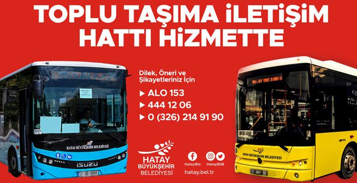 Toplu Taşıma İletişim Hattı Hizmette