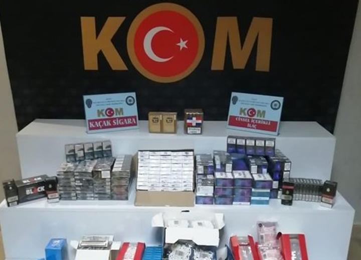Hatay'da Gümrük Kaçağı Sigara Ele Geçirildi