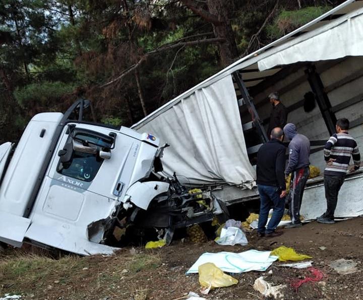 Kıcı'da Kaza: 1 Yaralı