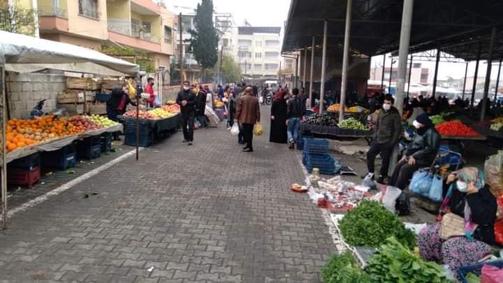 Kırıkhan'da Cumartesi Pazarı yeri Değişti