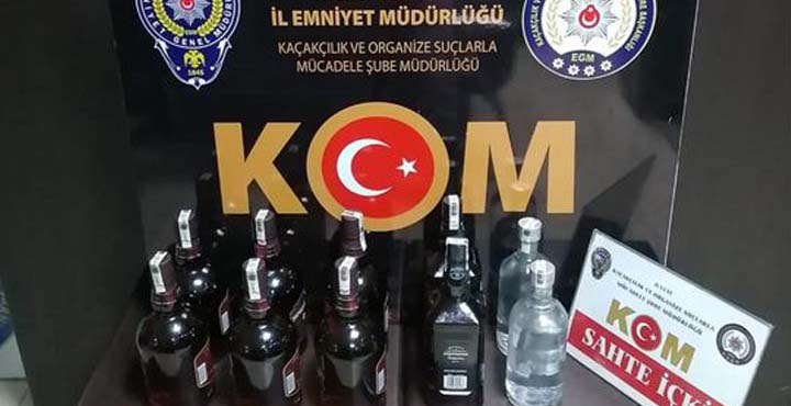 Hatay'da Şüphe Üzerine Durdurulan Araçtan Kaçak İçki Çıktı