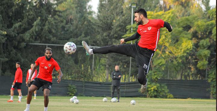 A. Hatayspor, Galatasaray maçı hazırlıklarını sürdürüyor