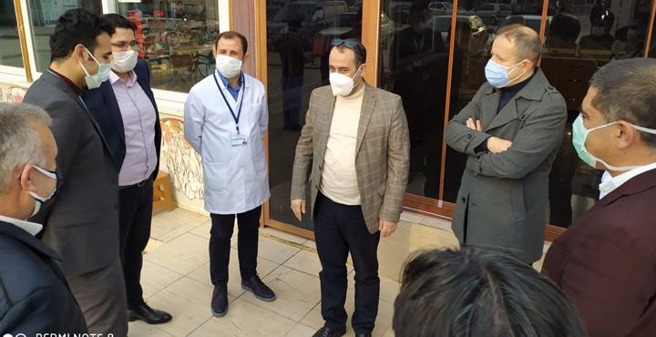 İl Sağlık Müdürlüğünden Kırıkhan Devlet Hastanesinde inceleme