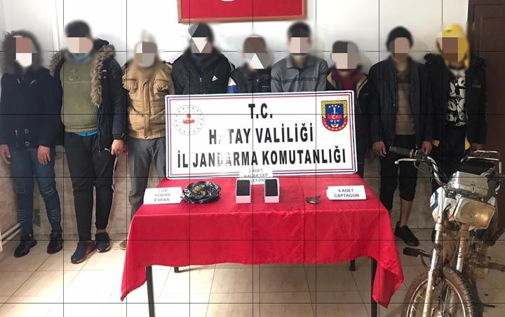 Göçmen Kaçakçılığı Yapan iki 2 Şahısa Jandarma Baskını