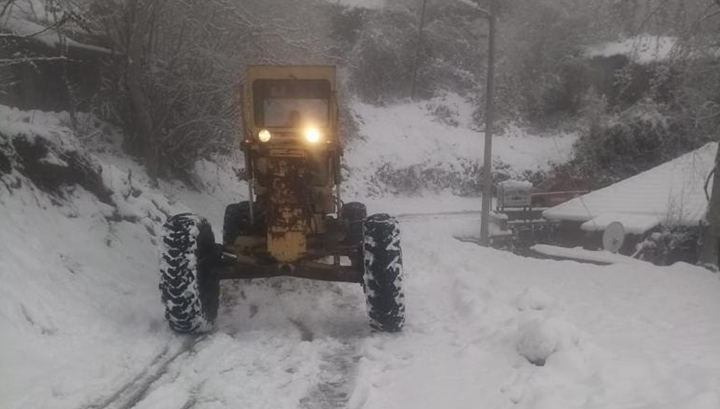 HBB İl Genelinde Karla Mücadele Başlattı