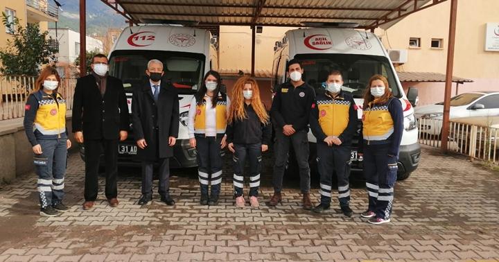 Yenilenen Payas 112'nin Ambulanslarını Yerinde İnceledi