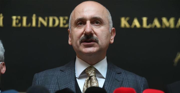 """Bakan Karaismailoğlu'dan """"Amanos Tüneli"""" müjdesi"""