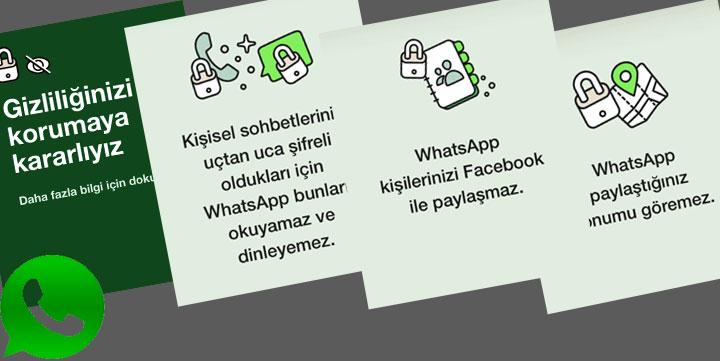 Whatsapp tepkiler üzerine yeni paylaşım yaptı