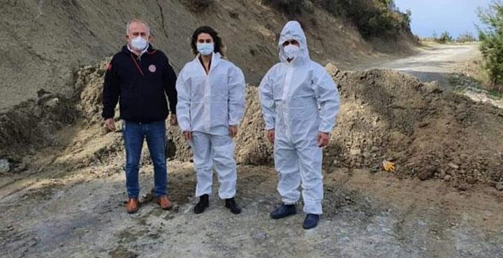 Arsuz Kurtbağı Mahallesi Karantinaya Alındı