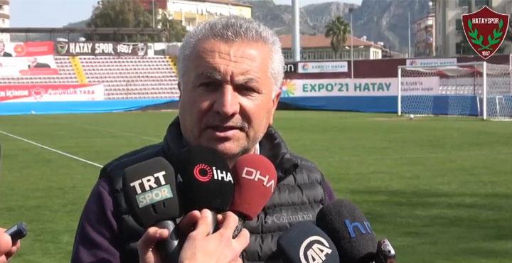 (Video)Atakaş Hatayspor Basın Sözcüsü Rahmi Vardı; Boupendza Gitmiyor