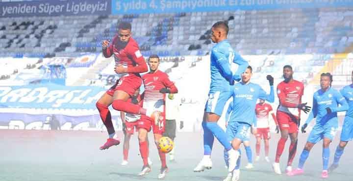 Atakaş Hatayspor Durdurulamıyor! B.B.Erzurumspor 1-3 Atakaş Hatayspor