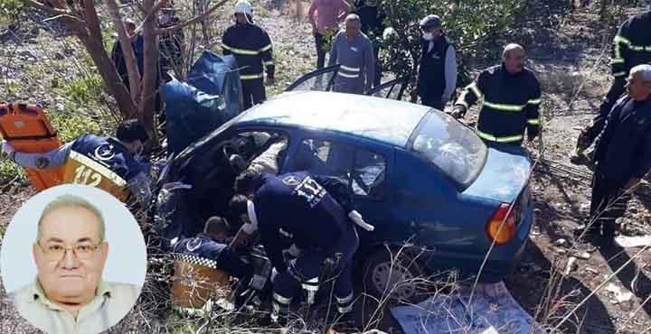 Erzin'de Araç Şarampola Yuvarlandı; 1 Kişi Hayatını Kaybetti