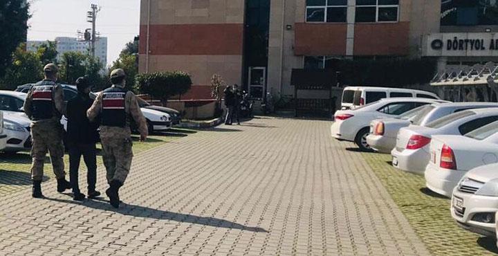 Hatay'da Terör örgütü mensubu 4 Şüpheli Yakalandı