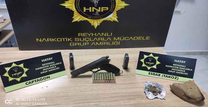 Hatay'da Uyuşturucu Satıcısına Polis Baskını