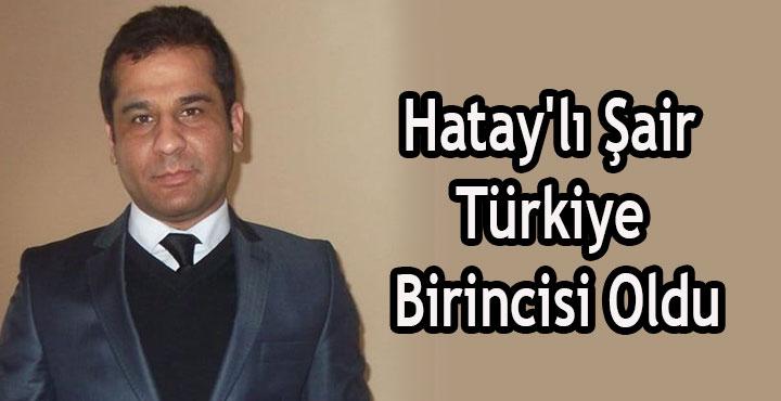 Hatay'lı Şair Türkiye Birincisi Oldu