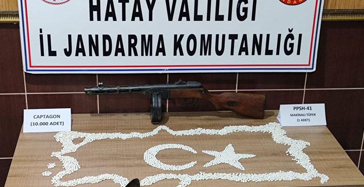 Jandarma'dan Sınırda Uyuşturucu Operasyonu