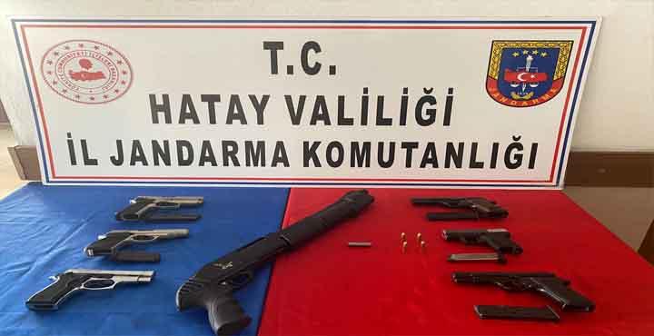Kaçak tabanca İmal Eden Şahıslar Gözaltına Alındı
