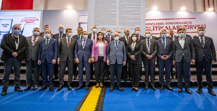 11 Büyükşehir Belediye Başkanı İzmir'de Buluştu