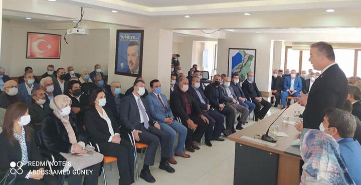 Ak Parti Kırıkhan Teşkilatından İl Başkanına Ziyaret