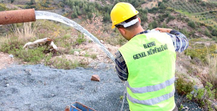 Ballıöz ve Doğanköy'e Yeni Su Kaynağı