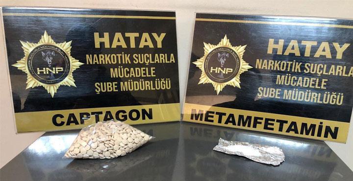 Narlıca'da Captagon ve Uyuşturucu Madde Ele Geçirildi