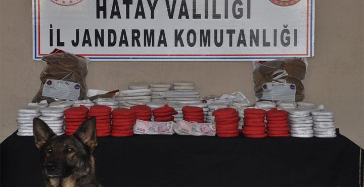 Sınırdan 82 Kg Esrarı Geçirmeye Çalışan Karakol Komutanı Yakalandı