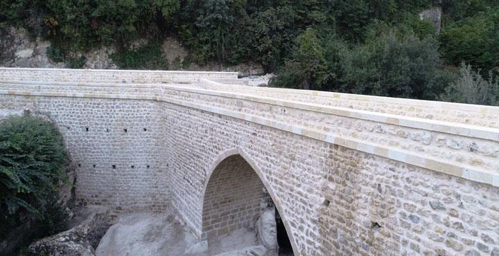Tarihi Batıayaz Köprüsünde Onarım Çalışmaları Başlıyor
