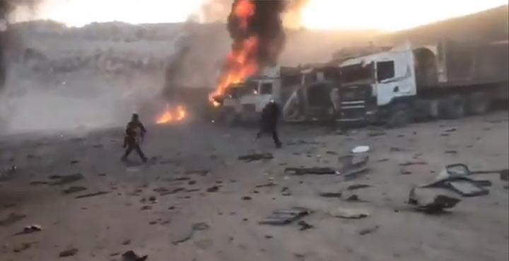 Rus uçakları sınırlarımıza yakın bölgeyi bombaladı