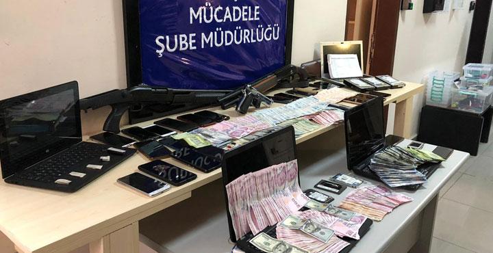 Hatay'da yasadışı bahis operasyonu; 21 gözaltı