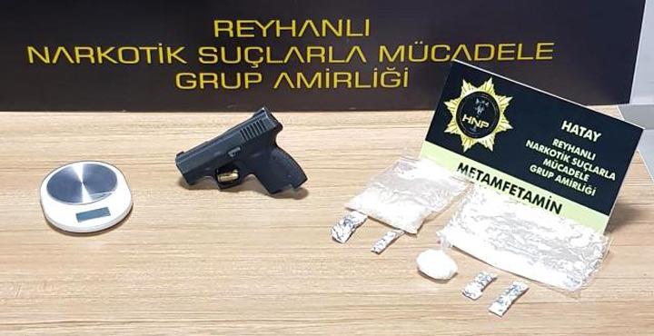 Hatay'da uyuşturucu operasyonu; 4 kişi tutuklandı