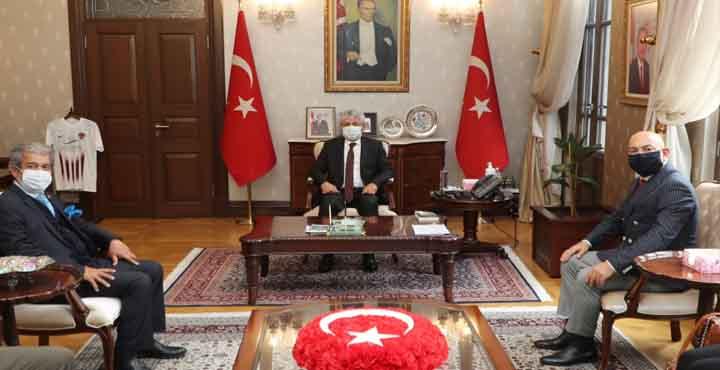 AGF Heyetinden Vali Doğan'a Ziyaret