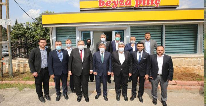 Davutoğlu'ndan Necmettin Çalışkan'a Ziyaret