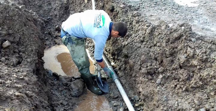 Erzin'de İçme Suyunu Koruma Çalışaları Devam Ediyor