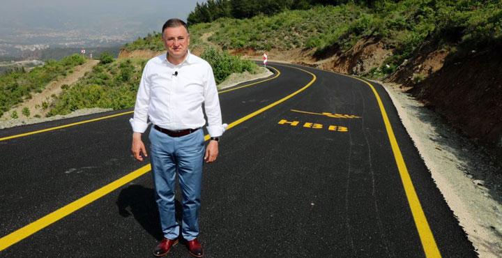 Kozaklı Mahallesinde Asfaltlanan Yolda İnceleme Yaptı
