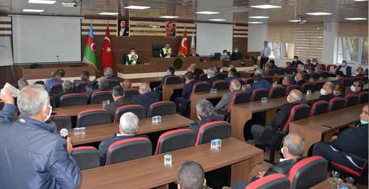 Kırıkhan'da Arazi Toplulaştırma Toplantısı