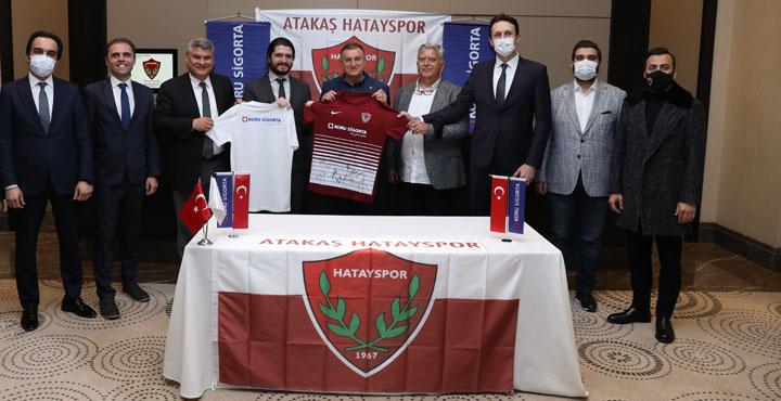 Koru Sigorta'dan Atakaş Hatayspor'a Ziyaret