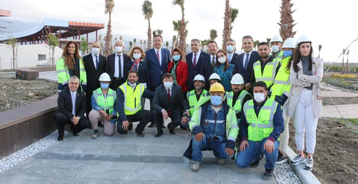 Türk Dünyası Büyükelçileri Expo Alanlarını Ziyaret Etti