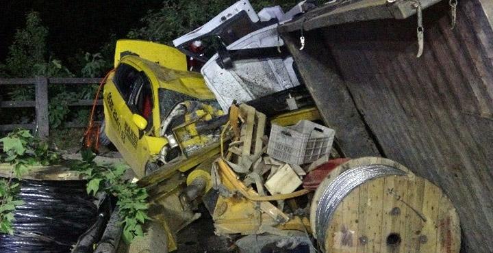 4 kişinin öldüğü kaza güvenlik kameralarına yansıdı