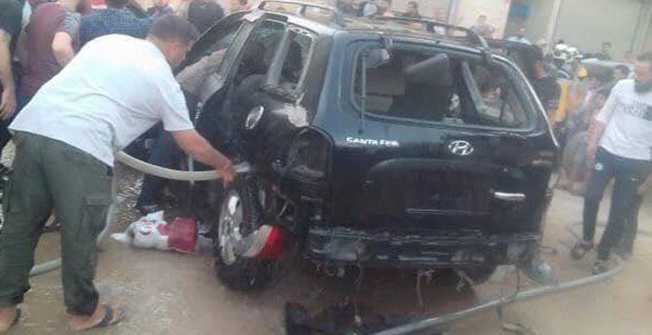 Afrin'deki Bombalı Terör Saldırısında 5 Çocuk Yaralandı