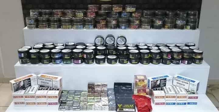 Hatay'da Kaçak Sigara, Tütün ve Makaron Operasyonu
