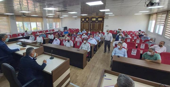 Kırıkhan Belediye Meclisi Organize Sanayi İçin Toplandı