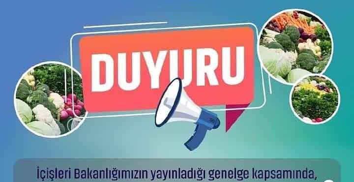 Kırıkhan'da Cumartesi Günleri Üç Semt Pazarı Aynı Anda Kurulacak